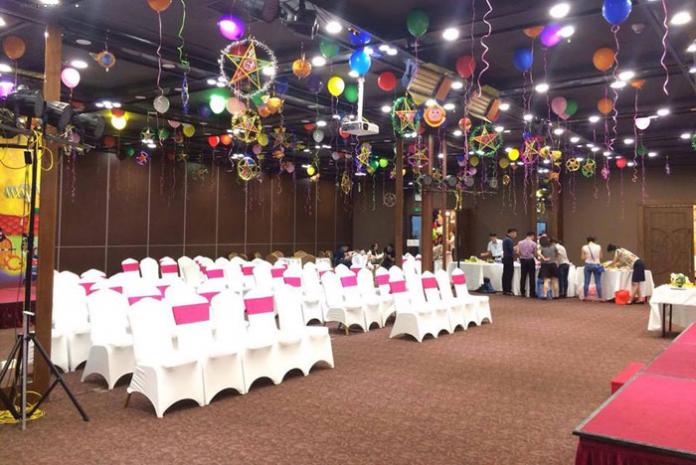 Trang trí phòng tổ chức sự kiện trung thu cho các bé
