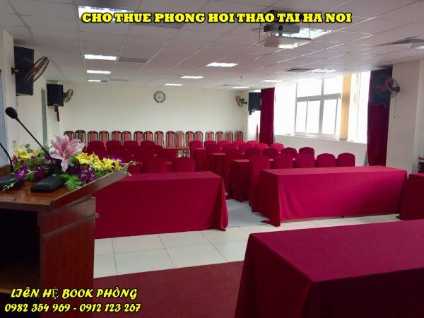 thuê phòng hội thảo Hà Nội