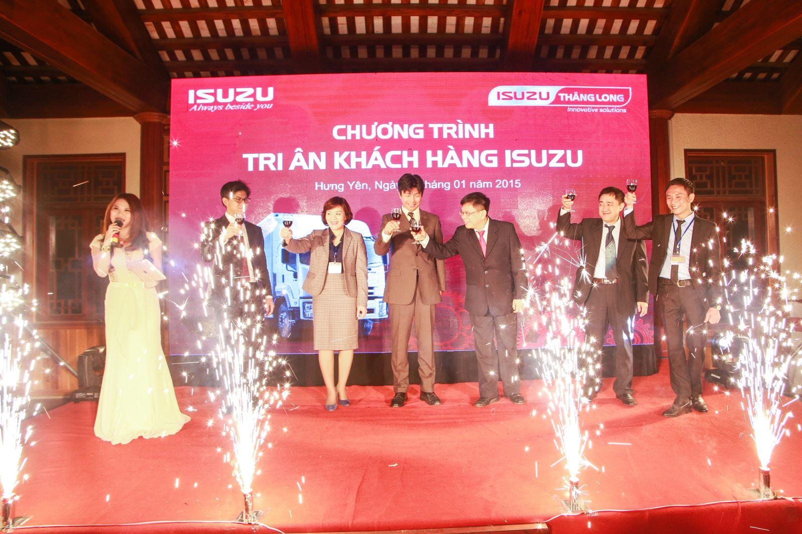 chương trình tri ân khách hàng của thương hiệu Isuzu