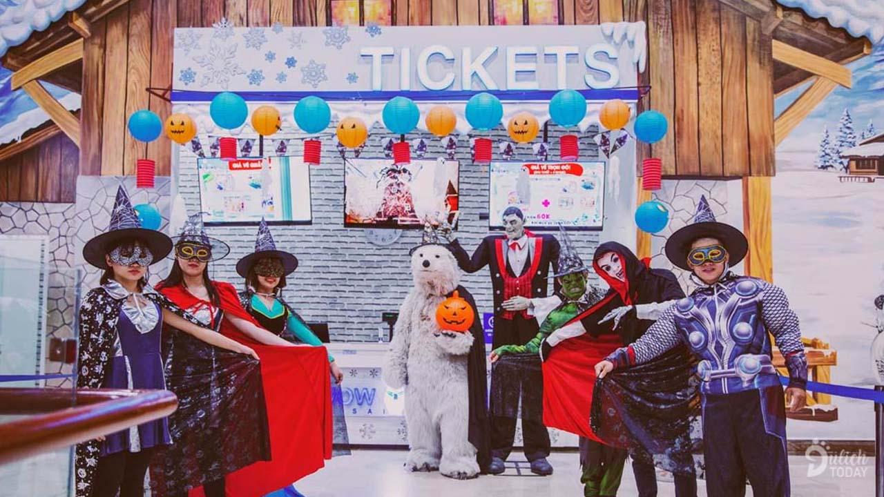 Những sự kiện hấp dẫn cho các bé được tổ chức ở Snow Town