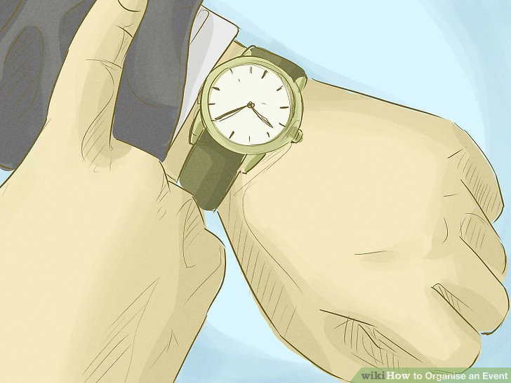 Một chiếc đồng hồ là dụng cụ không thể thiếu của những người quản lý thời gian