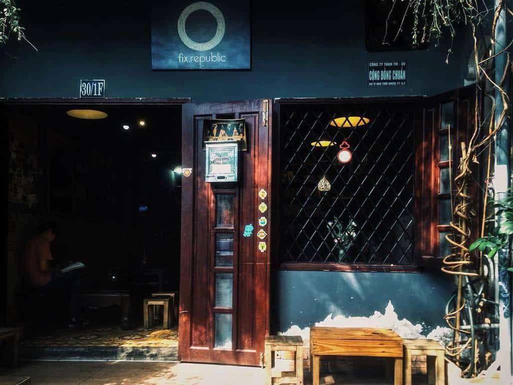 mô hình quán cafe đẹp - fix republic coffee shop