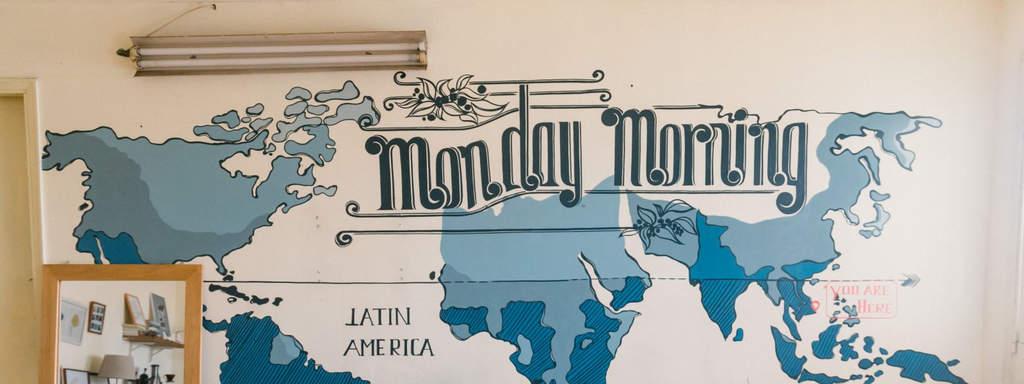 mô hình quán cafe đẹp - monday morning cafe