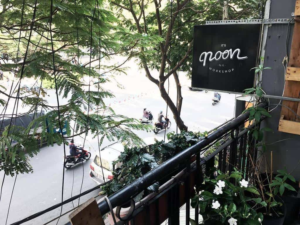 mô hình quán cafe đẹp - noon workshop cafe