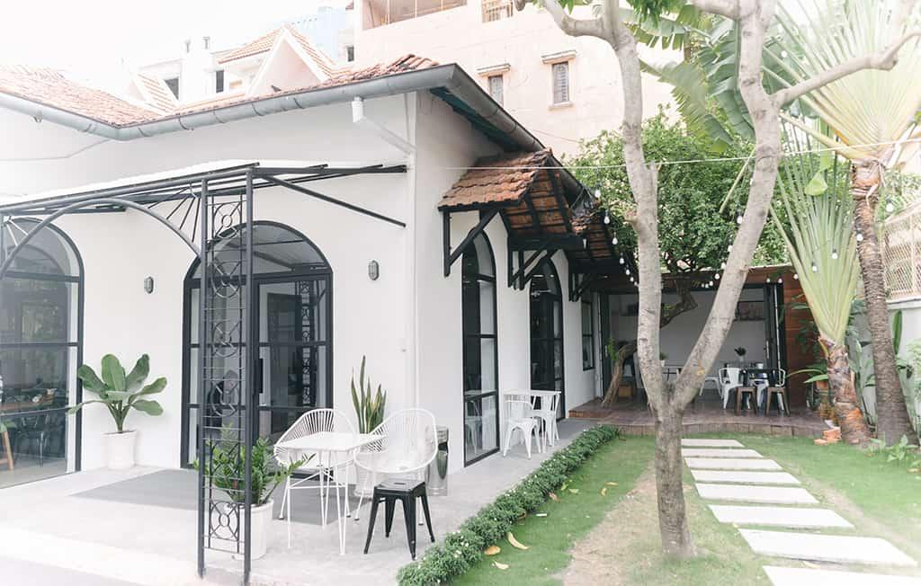 mô hình quán cafe đẹp - the open space cafe