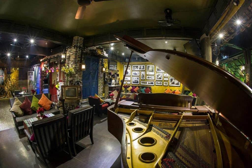 mô hình quán cafe đẹp - yesterday piano cafe