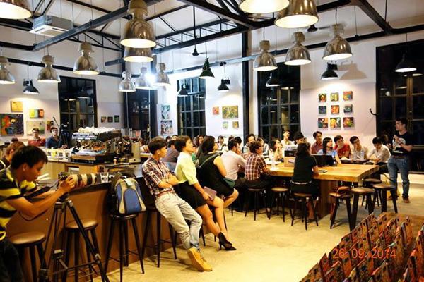 Một vàikhái niệmliên quan khác - cafe workshop là gì ?