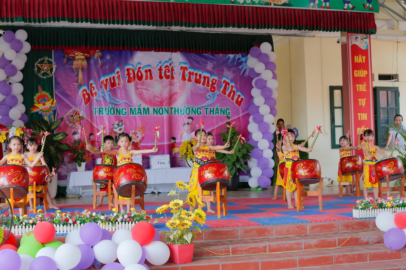 Mầm non huyện Hiệp Hòa Tổ chức ngày hội