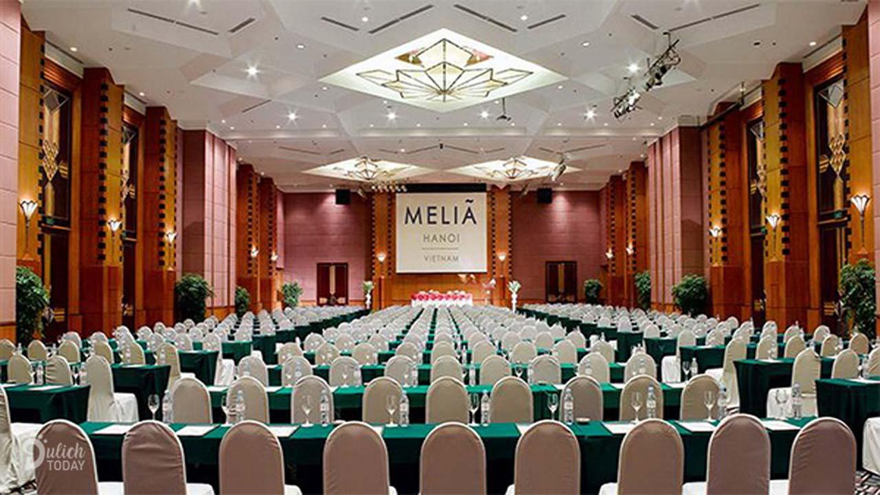 Khách sạn Melia là địa điểm tổ chức hội thảo ở Hà Nội chuyên nghiệp