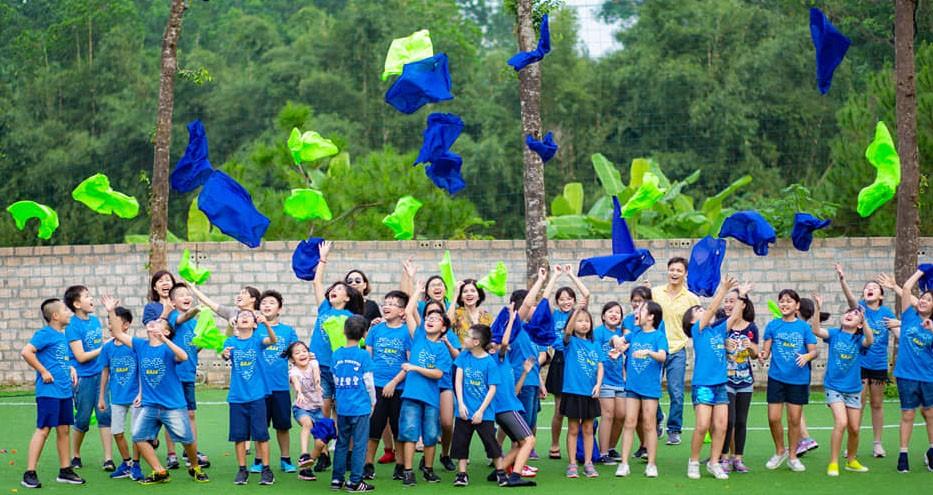 Teambuilding giúp trẻ em vừa chơi vừa học