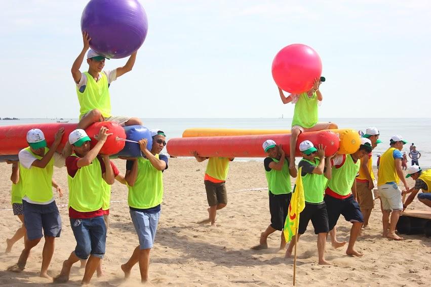 Tổ chức teambuilding tại biển Cửa Lò nghệ an chuyên nghiệp | Khách Sạn Cửa Lò Nghệ An